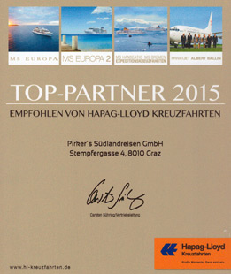 Hapag Lloyd Top Partner 2015